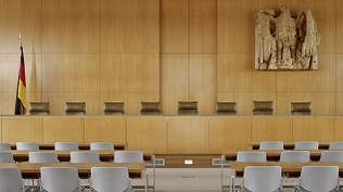 Image: Bench in the Courtroom