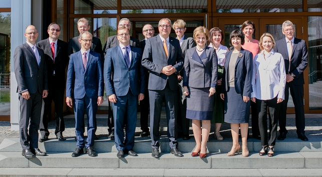 Visit of a delegation of the Constitutional Court of Latvia to the Federal Constitutional Court
